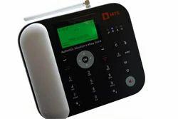 Black CDMA FWP Landline With WIFI FM Radio Conference SMS
