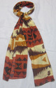 Cotton Printed Stoles With Fringes