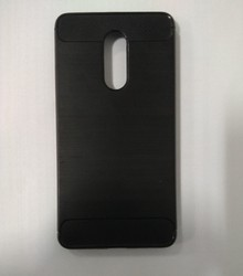 Leather Black Mi Mobile Back Covers