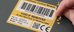 Industrial Void & Tamper Proof Label