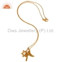 Gold Plated Silver Pendant Collectoin