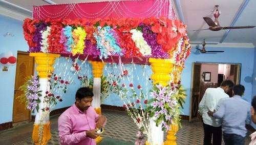 Wedding Mandap At Rs 18000 Day म डप Baidhnath Flowers And