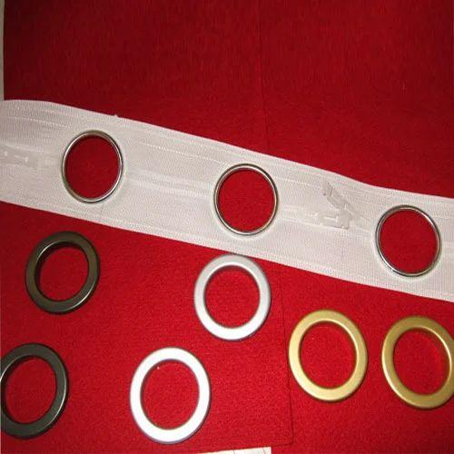 Plastic curtain eyelet rings for Window ke parde