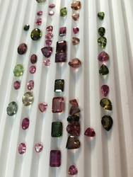 Multi Tourmaline Facet Stones