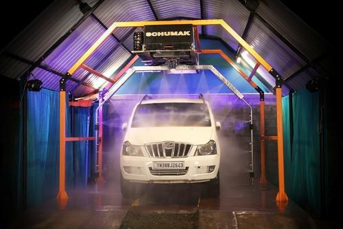 Touch less Car Washing System