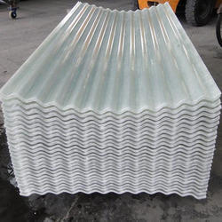 FRP Translucent Corrugated Sheet