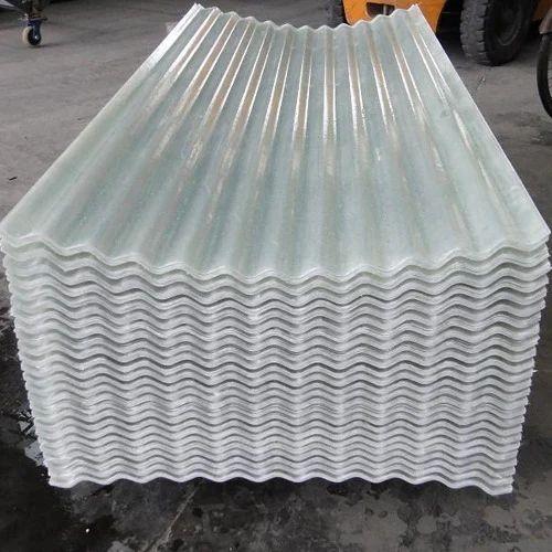 Frp Translucent Corrugated Sheet Corrugated Fiber Sheets