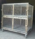 Steel Cage For Dog Cat And Animal, Size/dimension: Petmate Sky Kennel Vari Kennel Made In Usa