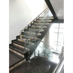 SS Glass Hand Railing