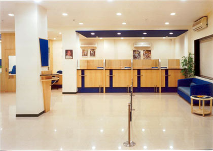 Interior Designing Services For Banks