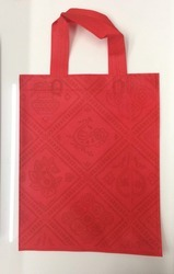 Red Popular Nonwoven Grocery Bags