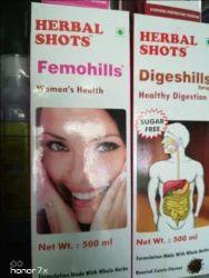 Herbal Shots Medicine