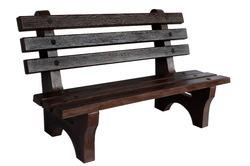 Wooden Texture RCC Bench