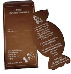 First Birthday Invitation Card At Rs 15 Pack Agaram Chennai Id 13726257762