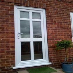 UPVC Glass Door
