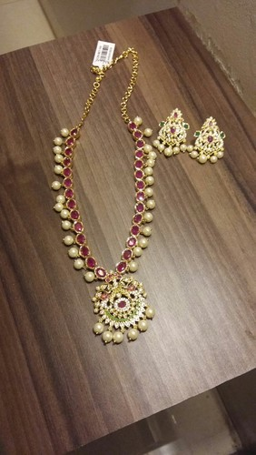 cc9779b779 Party And Weddings Female One Gram Gold Jewellery, Rs 1000 /unit ...
