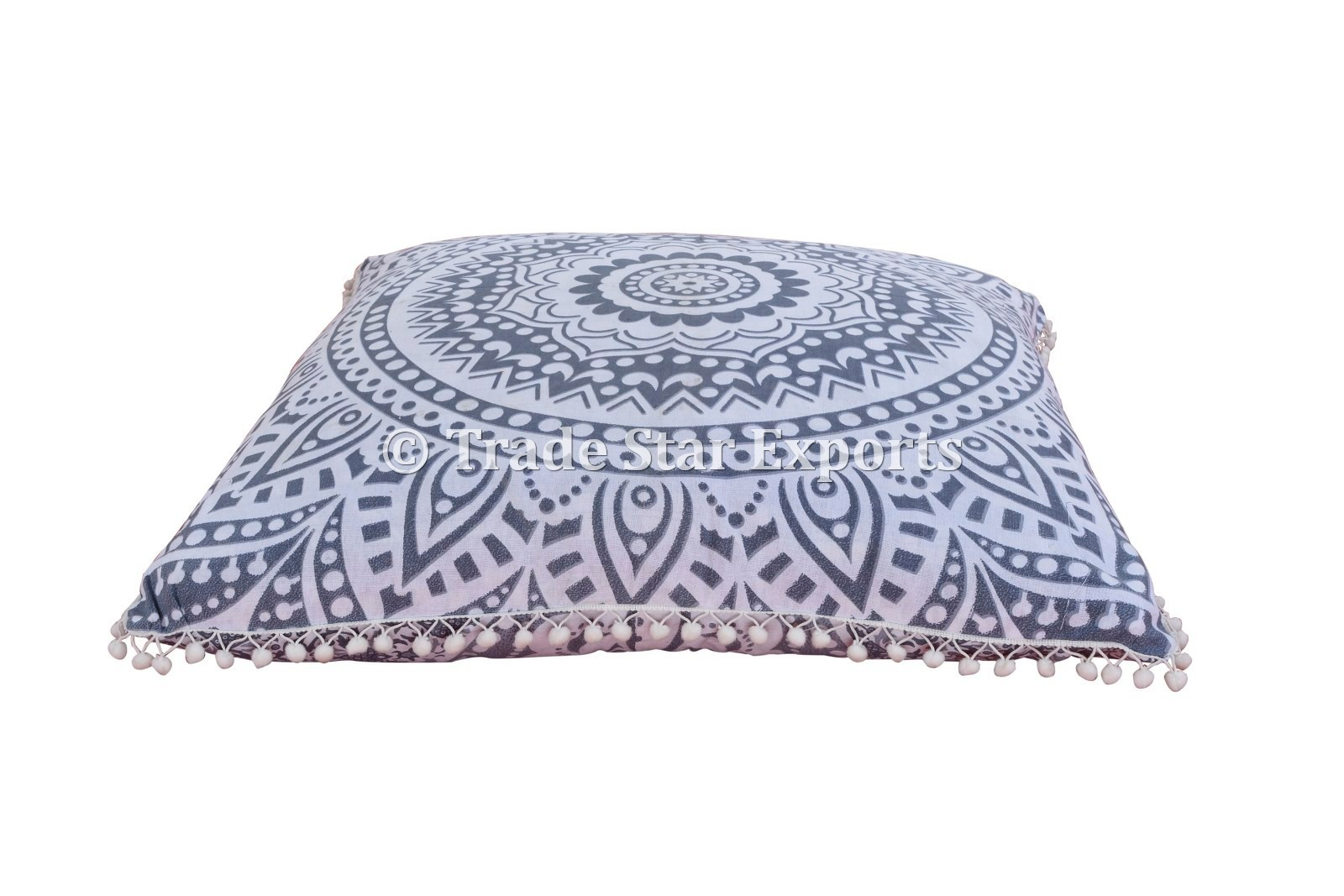 Multicolor 100 Cotton Euro Shams Indian Mandala Pillow Cases Size 26 X 26 Inches 66 X 66 Cm Rs 450 Piece Id 13630277291