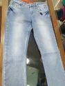 Plain Bottom Jeans