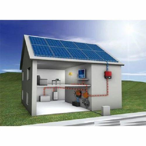 Solar Home Lighting: 1000 W Solar Home LED Lighting System, Rs 70000 /set