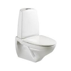 OSIS White Wall Hung Cistern, 450mm, For Bathroom