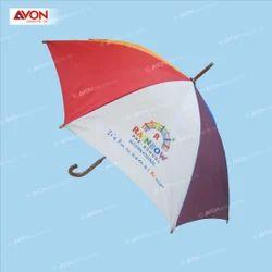 Multicolor Wooden Umbrella