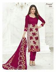 Pranjul Priyanshi Cotton Formal Wear Ladies Suits