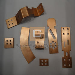 Copper Precision Turned Components