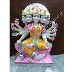 Gayatri Maa Marble Statue