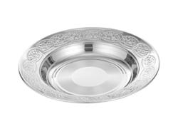 Stainless Steel Deep Soup Plate Fancy