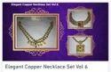 Elegant Copper Necklace Set