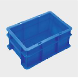 Plastic Blue Crate