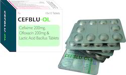 Cefixime Ofloxacin Lactic Acid Tablets