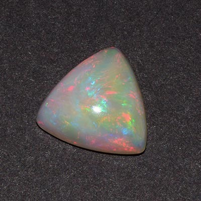 Aaa Multi Color Opal Trillion Cabochon Top Quality