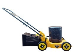 Electric Lawn Mover With Steel Deck