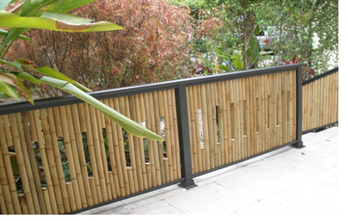 Image result for Bamboo Fencing