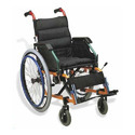 Black Manual Wheelchair