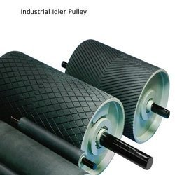 Stainless Steel Conveyor Pulley With Rubber Lagging, Capacity: 1 Ton