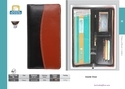 Leather Cheque Book Series Folders