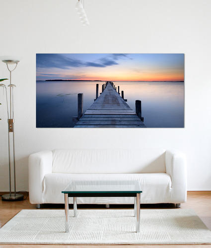 LARGE SELECTION OF SIZES WHARF CUSTOM FRAMED CANVAS PRINTS CHOOSE YOURS !