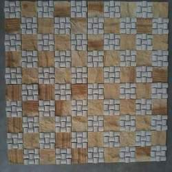 Yellow Mint Mosaic Tile