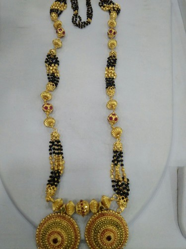Gold Daily Wear 1 Gram Mangalsutra Rs