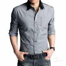 Fancy Shirts - Men Grey Shirt Manufacturer from Kolkata