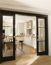 Casement, Sliding L Handle UPVC Kitchen Doors