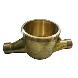 Brass Water Meter Body, For Industrial, Domestic, Size: 15 Mm
