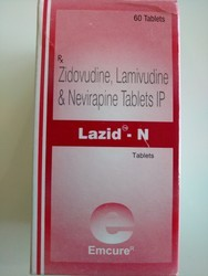 Lazid - N  Zidovudine,Lamivudine & Nevirapine Tablet