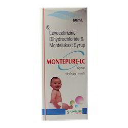 Levocetirizine Dihydrochloride And Montelukast Syrup