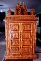 Ornamental Pure Teakwood Puja Mandapam
