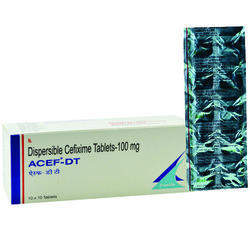 Dispersible Cefixime 100 mg Tablet