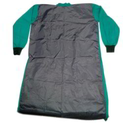 Surgeon Apron With Rubber