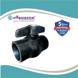 Black Solid Ball Valve